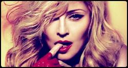 Madonna em promoshoot para o MDNA