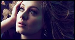 Adele em photoshoot para a revista Vogue