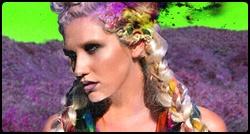 Kesha em photoshoot para o álbum Warrior
