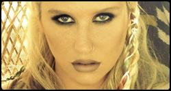 Kesha em photoshoot para o CD Warrior