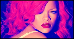 Rihanna em photoshoot para o álbum Loud