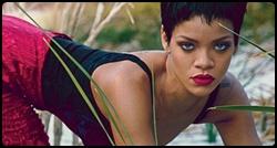 Rihanna em photoshoot para a revista Vogue