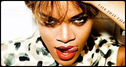 Rihanna na capa do álbum Talk That Talk